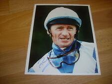 Michael ROBERTS  Horse Racing Jockey  8/07/95  Original Hand SIGNED Press Photo