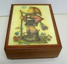 HUMMEL-MUSIC JEWELRY  BOX WITH REUGE SWISS MOVEMENT-DOCTOR ZHIVAGO TUNE-VINTAGE