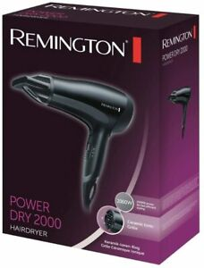 Remington D3010 Power Dry Professional Hair Dryer Ceramic Ionic 2000W