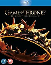 GAME OF THRONES Complete HBO TV Series 2 Bluray Box Set Collection + Extras New