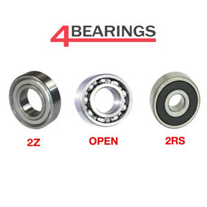 Bearings 6000 - 6312 Series High Quality Open 2RS ZZ C3 CM