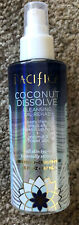 One New Pacifica Coconut Dissolve Cleansing Oil Face Rehab 100% Vegan 5 Oz.