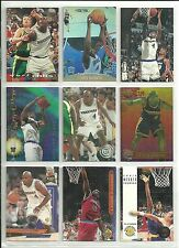 HUGE CHRIS WEBBER 95 CARD 75 DIFFERENT LOT a w/ 8 RC