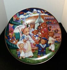 Teddy Bear Fair Collector Plate Franklin Mint Carol Lawson Carnival Limited Ed.