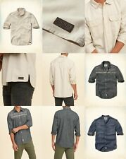 """NWT Hollister by Abercrombie A&F men's  DENIM  """"VICTORIA SHIRTS ALL SIZE"""