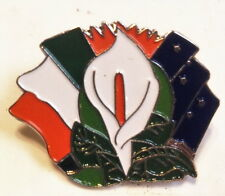 1916 Rising Easter Lily Badge Ticolour ,lily,starry plough
