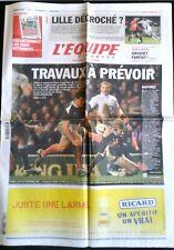 L'Equipe Journal 27/02/2011; Angleterre-XV de France 17-9/ Coupe Davis/ Losc