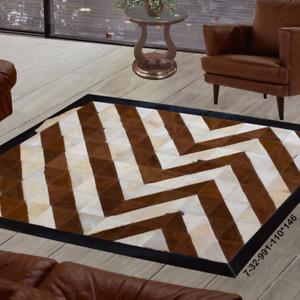 Modern rug floor rugs patchwork cowhide rug Bohemian new rugs online AU 7-32