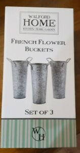 Walford Home Farmhouse Decor Vases French Flower Bucket