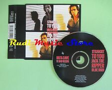 CD singolo nick cave & the bad seeds straight top you UK 1992 no vhs lp mc(S18)