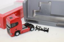 Herpa 306683 Scania CS20 Zugmaschine, rouge 1:87 neuf emballage d'origine