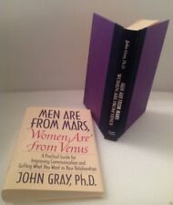 Rare MEN ARE FROM MARS, WOMEN ARE FROM VENUS 1992 HCDJ 1st EDITION Like New PICS