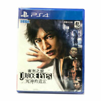 Judge Eyes Shinigami no Yuigon PlayStation PS4 2018 Chinese Factory Sealed
