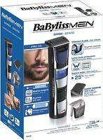 BaByliss T840E - Afeitadora y recortadora de barba cuchillas resistentes de aceo