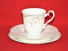 Royal Albert Bone China For All Season Hazy Dawn Patt Tea Trio  Made in England.