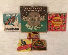 Vintage Castle Films 8mm World Parade, Andy Panda. Abbott & Costello News Thrill