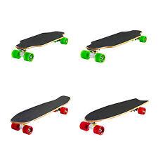Ridge Natural Mini Longboard Cruiser Skate arce canadiense láser alta calidad