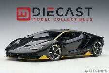 AUTOart 79114 Lamborghini Centenario (Clear Carbon w/Yellow Accents) 1:18 Scale