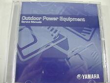 Yamaha Genuine CD Factory Service Manuals ALL 2007 Power Equipment lot