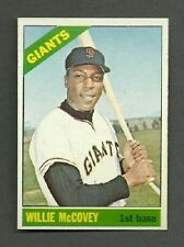 1966 Topps HIGH # 550 Willie McCovey SP - HOF - NM/MT - Additional ship free