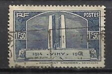 5290-SELLO ANTIGUO FRANCIA 1936 Nº317 VALOR 10,00€ YVERT.MONUMENTO 1ª GUERRA MUN