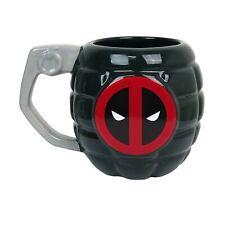 Deadpool Grenade Sculpted 15oz Mug Black