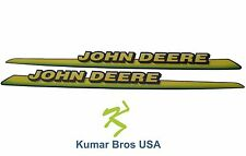 New John Deere LH & RH Upper Hood Decal Set 325 335 345 355D