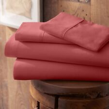 Hotel Quality 4 Piece Bed Sheet Set - Six Dramatic Color Shade Choices!
