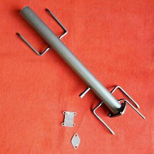 downpipe Tubo elimina  filtro DPF FAP fiat croma 1.9 2.4 + flange EGR inox