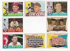 ***1960 Topps #208 Chicago White Sox BV$10! No creases, Slightly soft corners***