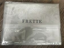 $1,250 - FRETTE Couture LIBERTY Khaki Beige QUEEN SHEET SET - FINAL SALE!