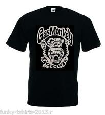 CAMISETA MONO CHIMPANSE GAS MONKEY