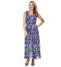 Noni B Liz Jordan Victorian Blue printed DRESS retail $149.95 XLarge 18 NEW