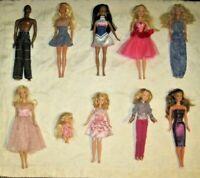 Barbie Doll Lot ~ Lot of 10 Dressed Barbie & Friends Dolls Lot (4)