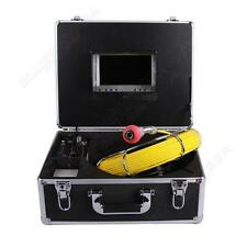 """7"""" Color LCD 30m Sewer Waterproof Camera Pipe Pipeline Drain Inspection System"""