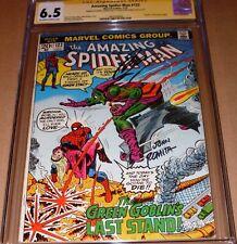 Amazing Spider-Man #122 CGC SS SIGNED John Romita Sr Conway Death Green Goblin