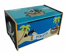 Children's Pirates Toy Boxes and Chests