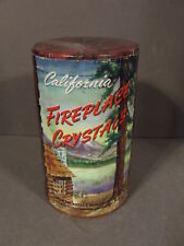 Vintage California Fireplace Crystals North Hollywood New Sealed