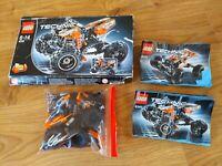 Lego Technic 9392 2 In 1 Quad Bike 100% Complete Boxed S&P Free Home - Free P&P