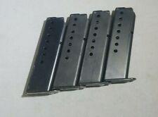 Sig Sauer P225 P6  9mm Magazine  8 round capacity ORIGINAL ZIPPER BACK MAGS USED
