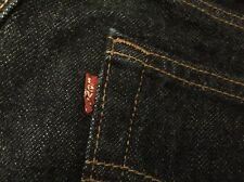 Vintage 1998's Levi's 501 Small e No Redline Indigo Denim Jeans. Size 29x30