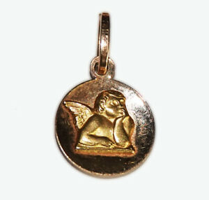 Vintage 18ct Yellow Gold Small Cherub Charm / Pendant