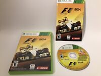 F1 2014 Racing Xbox 360 14 Formula 1 Complete Manual US Very Good Condition