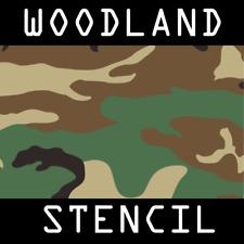 Woodland (M81) Stencil - Reusable A4 3 Sheets Tactical Military Army Surplus Gun