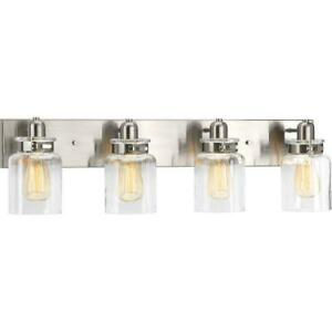 Calhoun Collection Four-Light Bath & Vanity by Progress Lighting