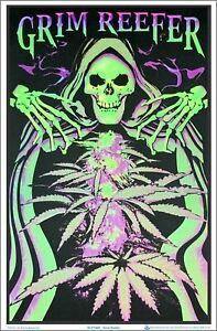 Grim Reefer Blacklight Poster 23 x 35