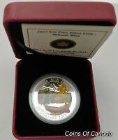 2013 Canada Autumn Bliss $20 Coin - 1 oz Fine Silver - Orig. Box #coinsofcanada