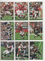UPPER DECK NFL 2007 UD FOOTBALL   VETERANS PART  BASE SET APPROX 150 OF 200 CARD