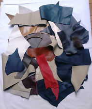 Quality Leather Scraps various colors pieces/remnants free post