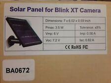 Solar Panel For Blink Xt Camera New